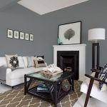 Cool Gray Paint Living Room Of Blue Behr