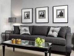 Grey Color Living Room