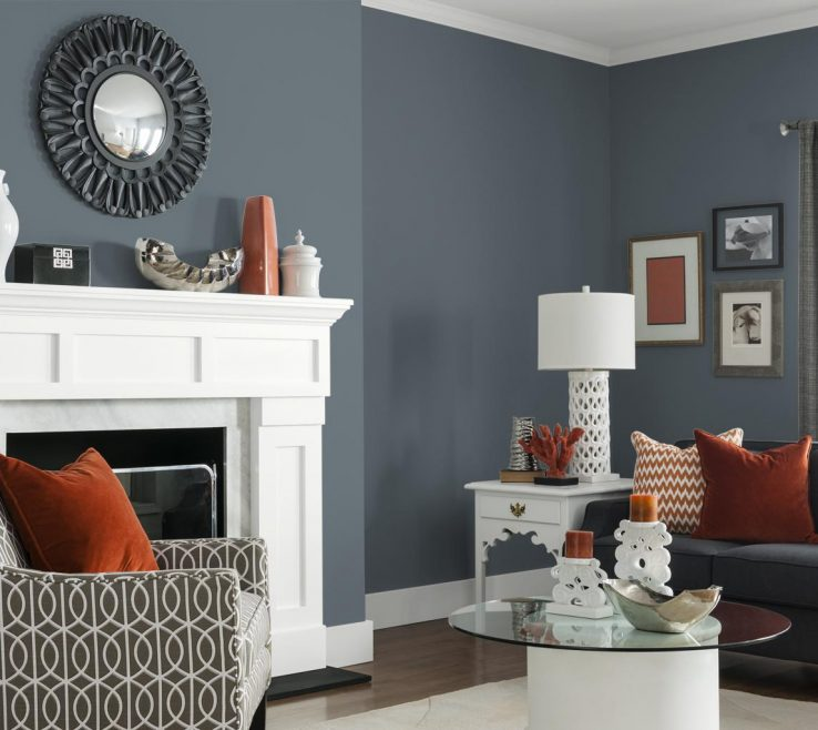 Cool Grey Paint Living Room Of Gray Colors For
