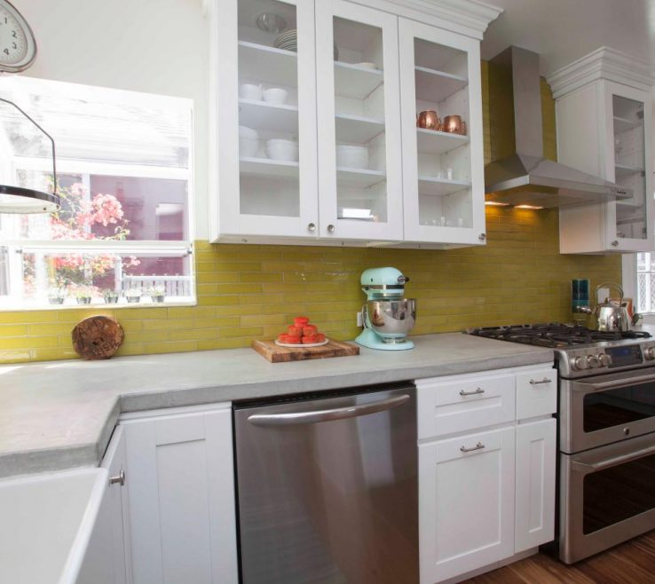 Cool Kitchen Ideas For Small Spaces Of Color It Big