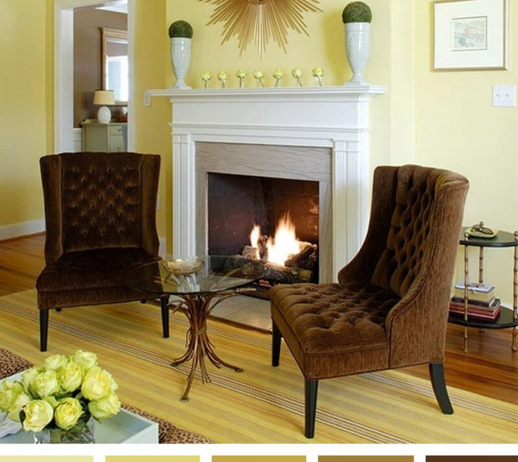 Cool Living Room Color Ideas 2017 Of 10. Warm Reflections On A Golden Afternoon