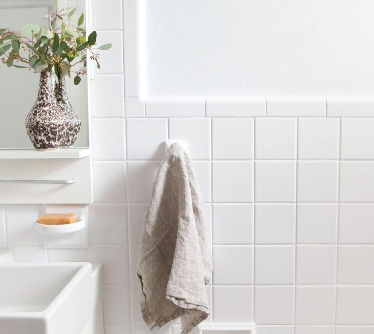 Cool Reglazing Bathroom Tile Of A Budget Hand Towel Option: The Linen