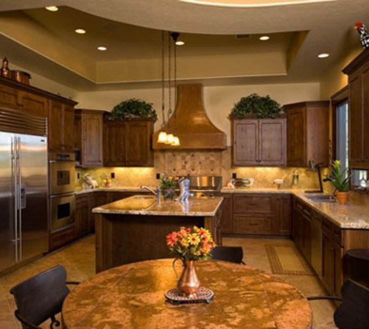 Cool Rustic Kitchen Pictures Of Best Popular Designs For Ideas