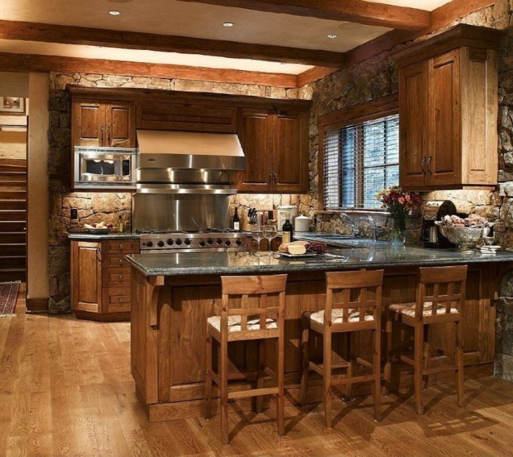Cool Rustic Style Kitchen Of Speed