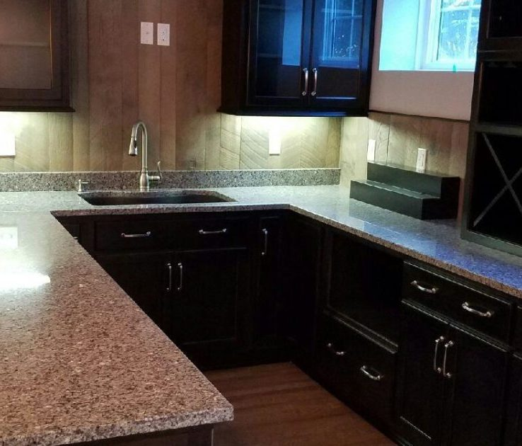 Dark Kitchen S Of Color | Granite | Counterop With Sink
