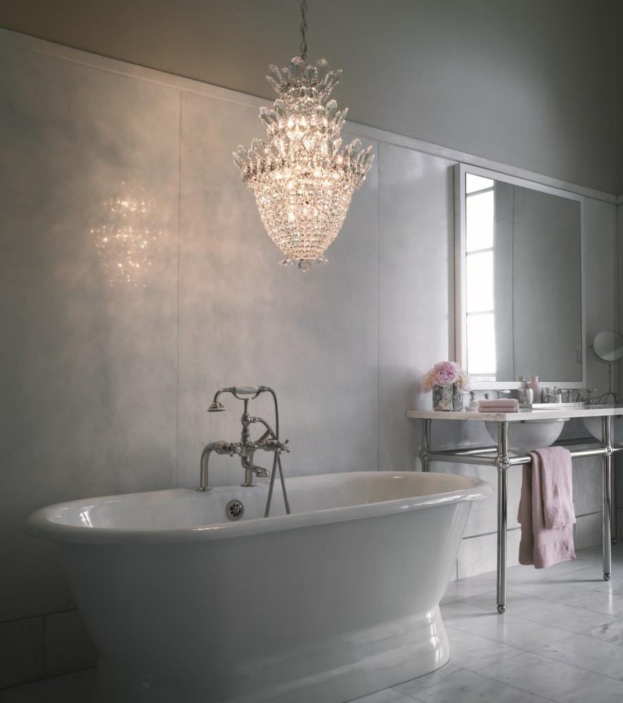 Elegant Bathroom Chandeliers Ideas Of