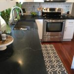 Elegant Black Marble Kitchen S Of Natural Stone Granite Price Per Foot Honed