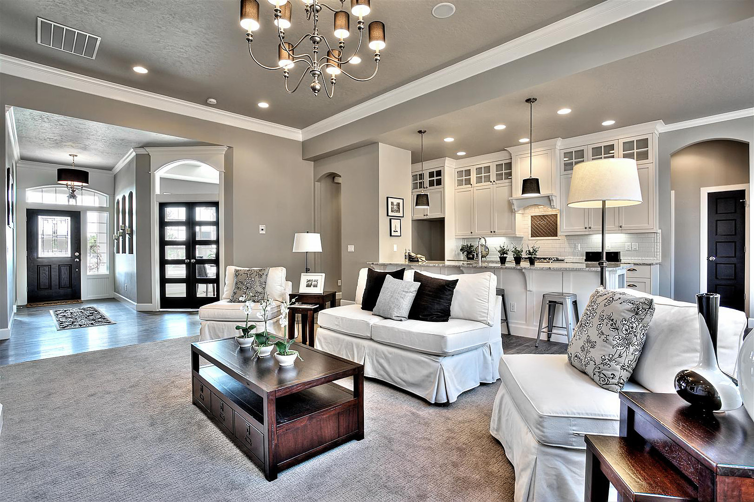 Elegant Gray Paint Colors For Living Room Of Wall Color Is Requisite Sherwin Williams Clark