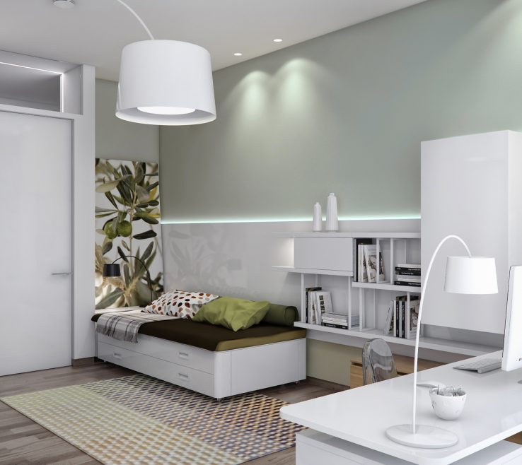 Elegant Guest Bedroom Decorating Ideas Of Decor Inspiration Small Office Office Beautiful Small