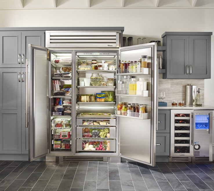 Elegant Luxury Kitchen Superbliances Of Chefs Equipped With True Refrigeration Residential