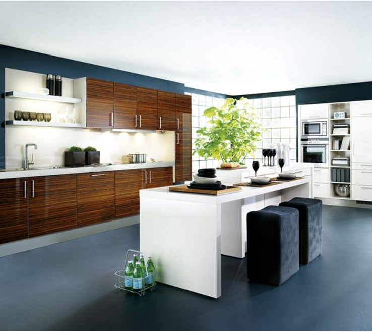 Elegant Modern Kitchen Of Sensational Awe Inspiring Contemporary Design Contemporary Designs