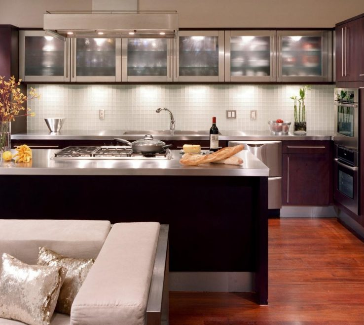 Elegant Modern Style Kitchen Of 11 Decorating Ideas On A Budget