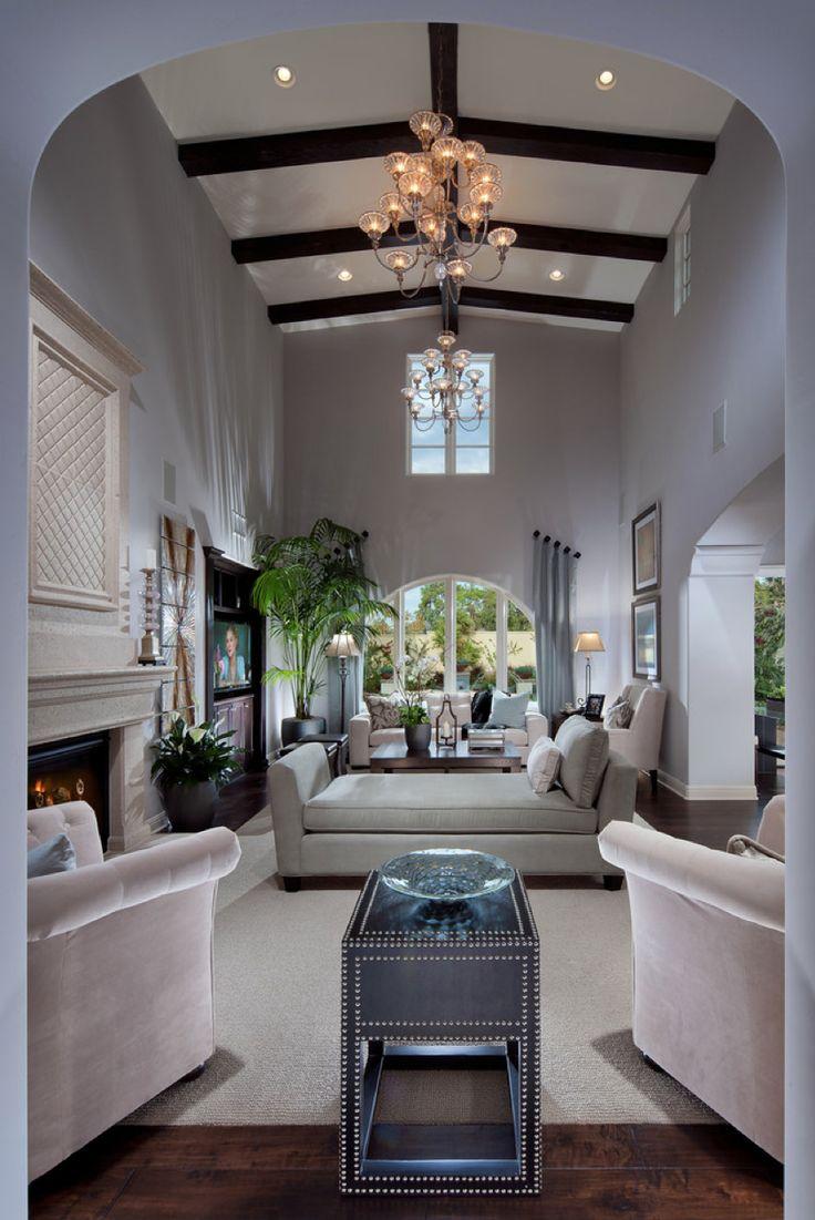 Elegant Narrow Living Room Layout