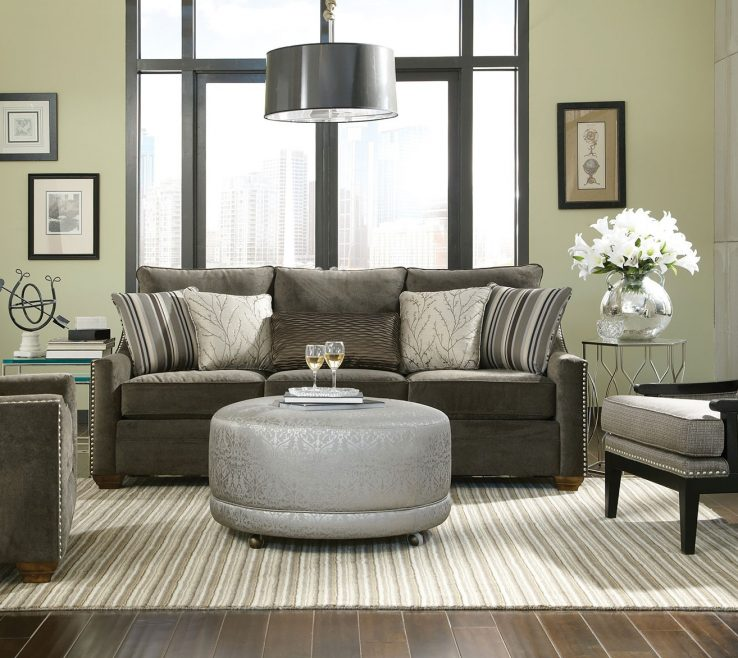 Elegant Ottoman Ideas For Living Room Of Round Coffee Table S M L F