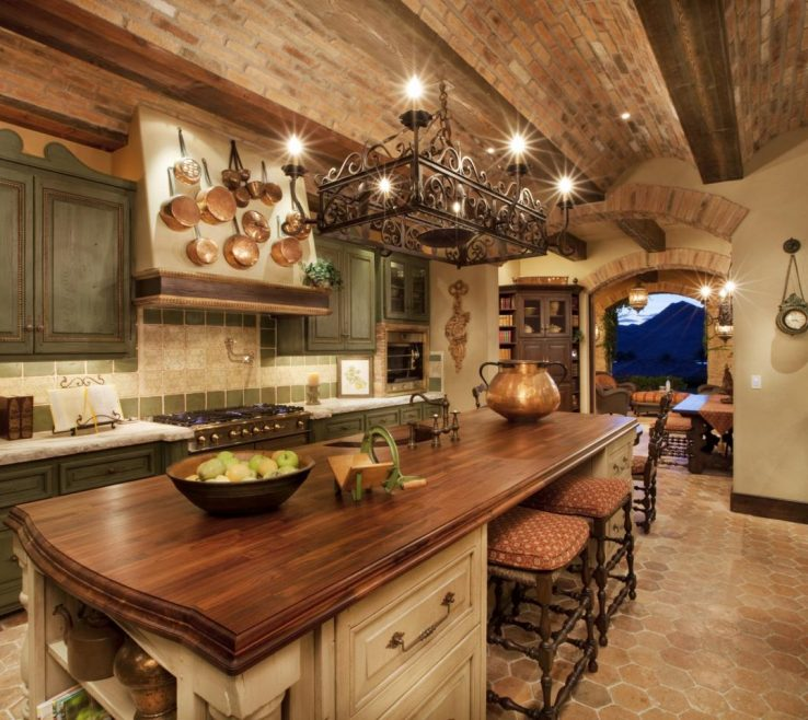 Elegant Rustic Kitchen Pictures Of Italian Style