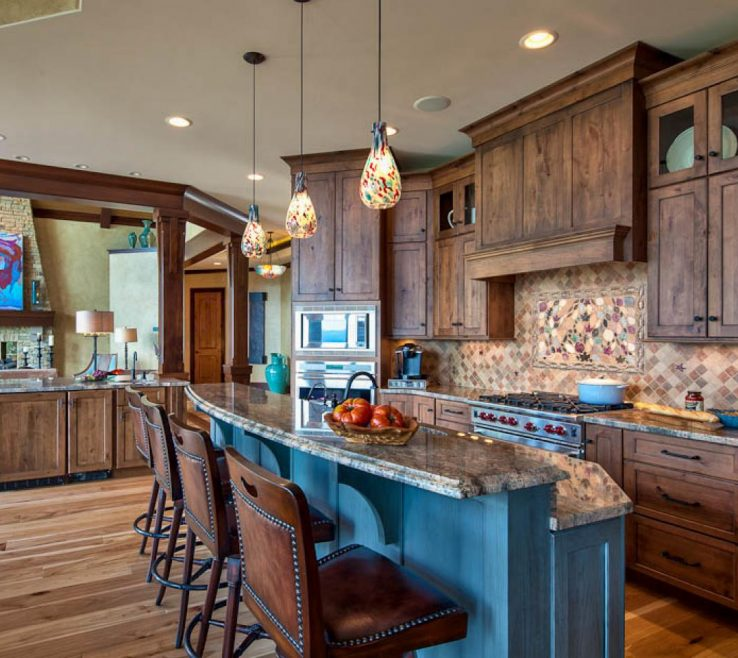 Elegant Rustic Kitchen Pictures Of Stone