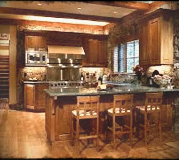 Elegant Small Rustic Kitchen Of Country Designs For Kitchens Home