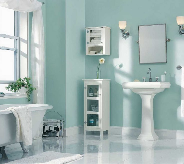 Enchanting Bathroom Paint Colors Of Best Reference Of Color Ing Light