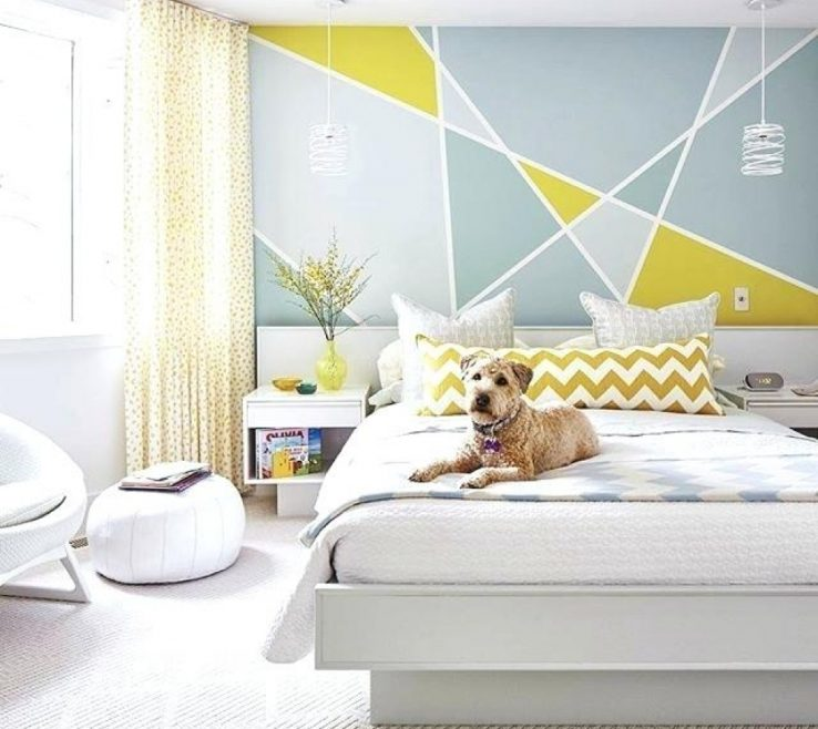 Enchanting Bedroom Paint Design Of Ideas Wall Ideas Ideas Wall Designs