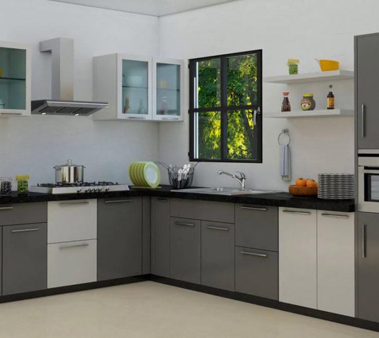 Enchanting Kitchen Designs For Small Kitchens Of Modular Gallery