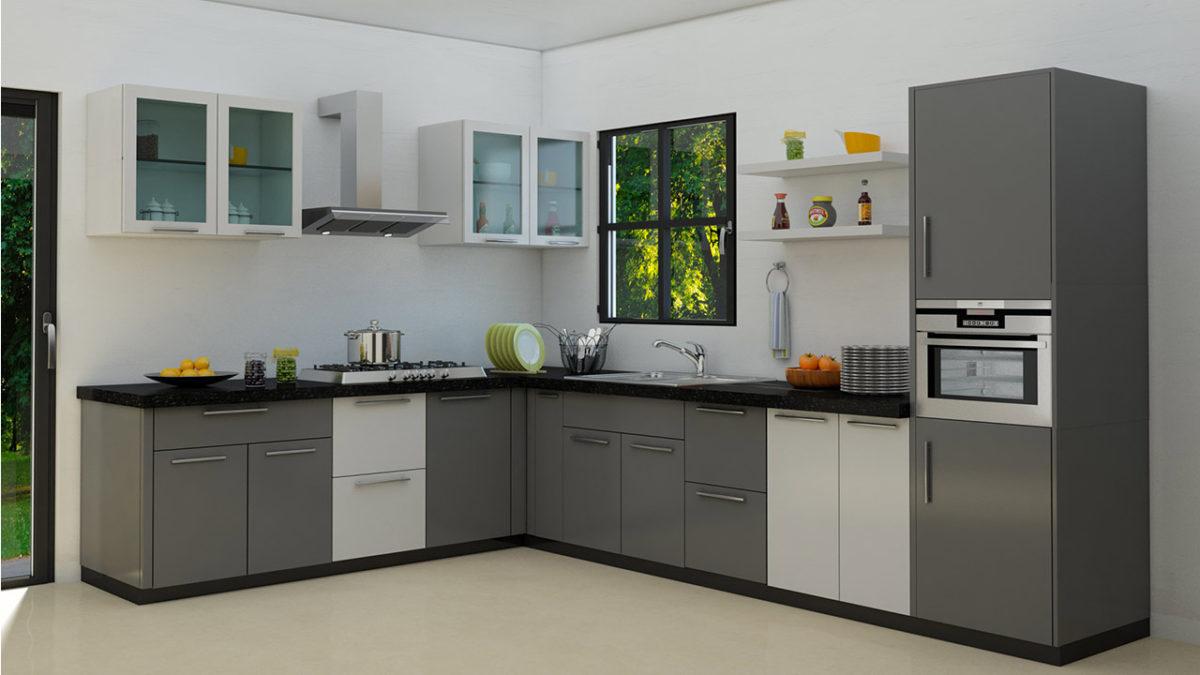 Enchanting Kitchen Desings Of L Shaped