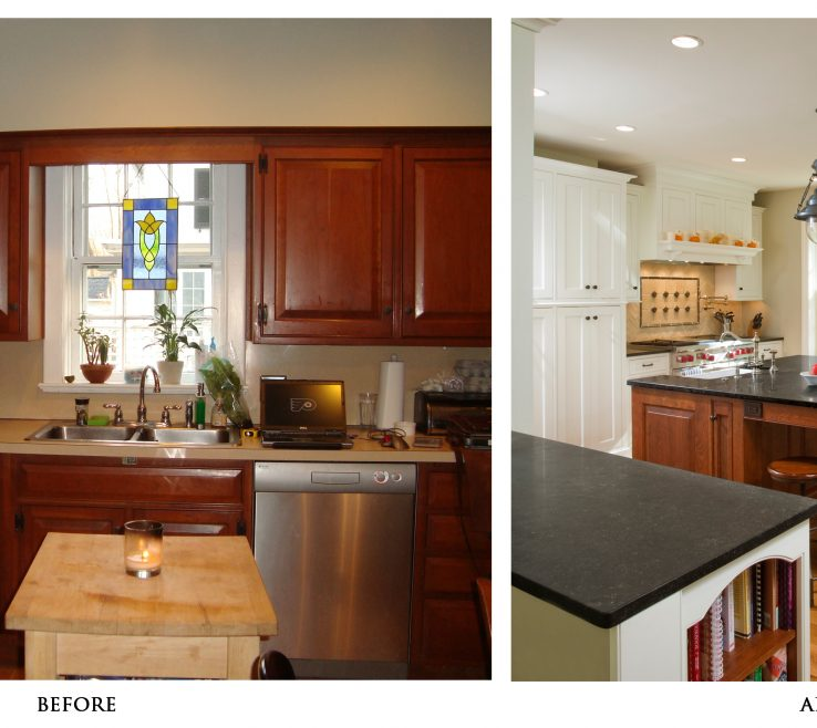 Enchanting Kitchen Renovation Before And After Of Renovations With Light S Granite