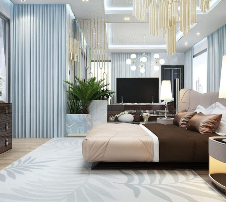 Enchanting Large Bedroom Ideas Of Interiors For Of Katrina Antonovich: Modern By