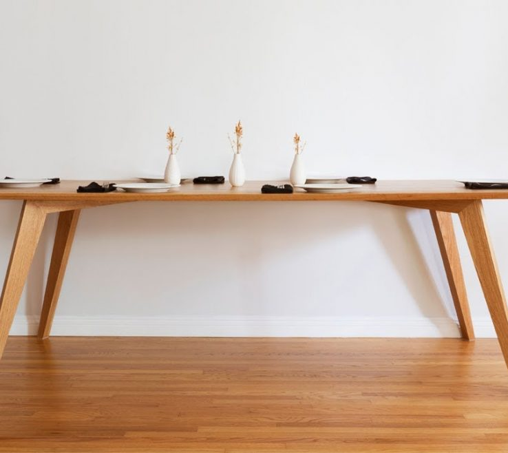 Enchanting Mid Century Dining Room Of Diy Table | Modern Woodworking