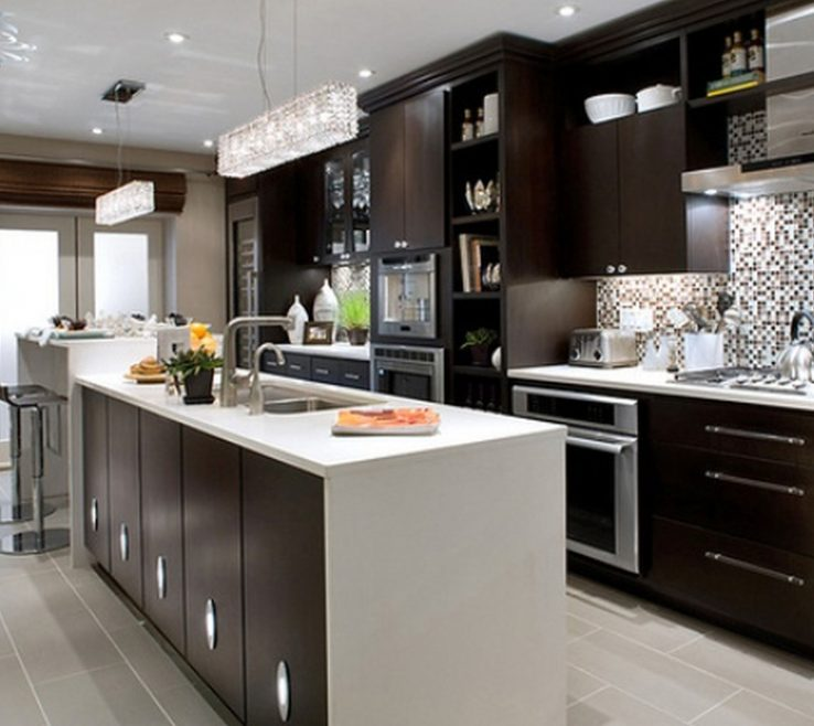 Enchanting Modern Contemporary Kitchen Of Decorating Ideas For Kitchens Design Ideas Inspiration