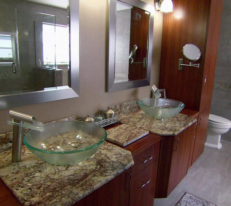 Endearing Bathroom Makeovers Before And After