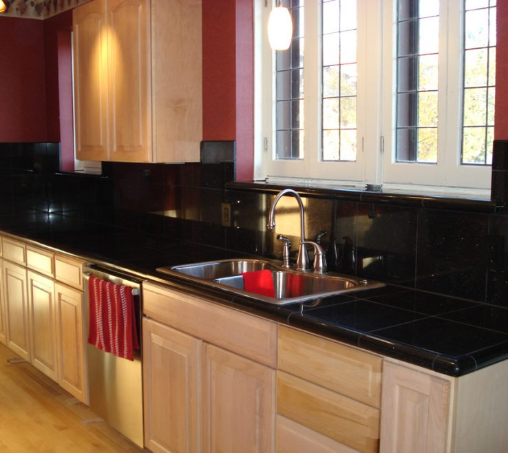 Endearing Dark Kitchen S Of Granite