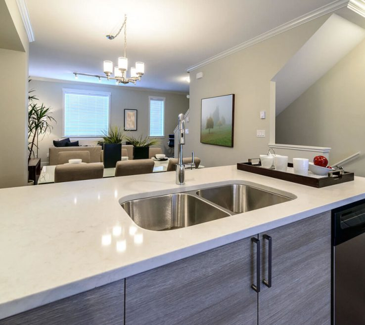 Endearing Modern Kitchen S Of Cashmere Carrara Quartz Kitchen