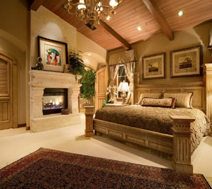 Enthralling Bedroom Fireplace Ideas Of Bedroom:luxury Master Bedrooms With Fireplaces Also White