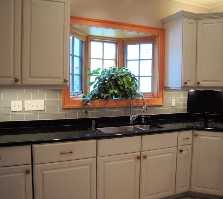 Enthralling Black Granite Kitchen S Of Gallery The Best Backsplash Ideas