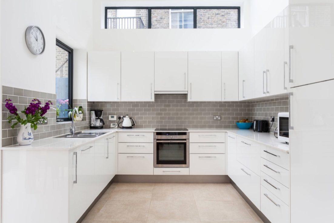 Enthralling Contemporary Kitchens 2017 Of White Kitchen