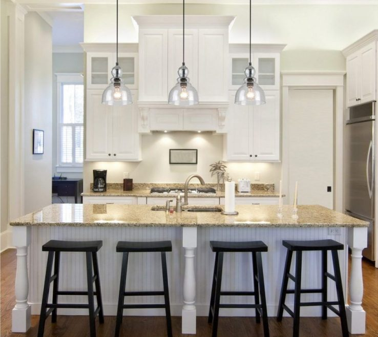 Enthralling Kitchen Pendant Lights Images Of Kitchen, Over The Island Lighting Light Fitures