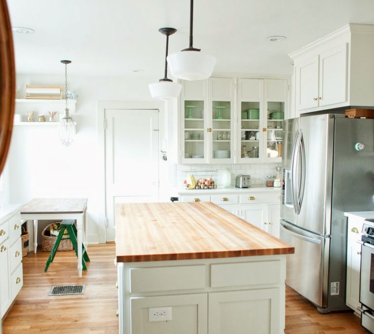 Enthralling Kitchen Renovation Before And After