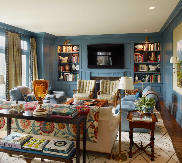 Entrancing Architectural Digest Living Room