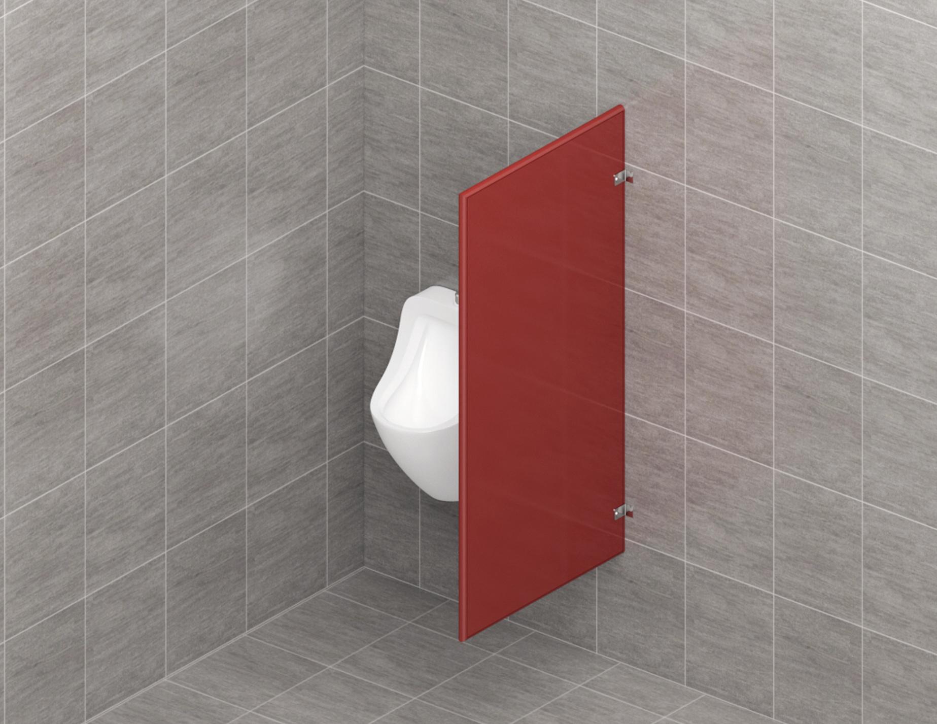 Entrancing Bathroom Partition Walls Of Urinal Andamp Privacy Screens