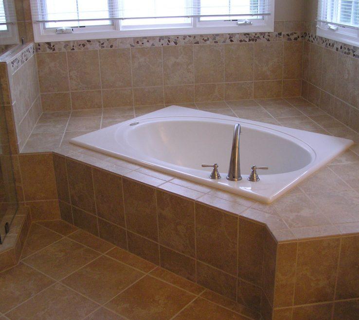 Entrancing Bathroom Tub Ideas Of Modern Small Corner Whirlpool Bath
