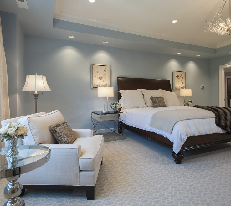 Entrancing Blue Gray Bedroom Of Light And Uncategorized Light Walls Bedrooms Decoration