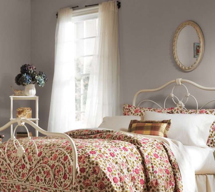 Entrancing Gray Color Bedroom Of Neutrals