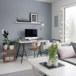 Entrancing Grey Paint Living Room Of Blue Gray
