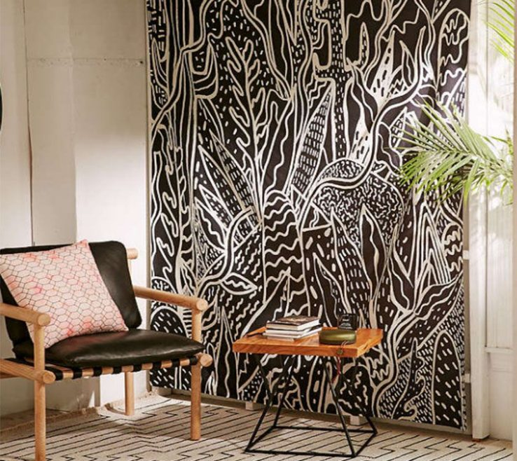 Entrancing Living Room Tapestry Of How To Decor Wall On Your Edorm