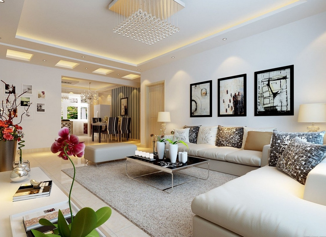 Exceptionnel Entrancing Wall Decor Living Room Of Ideas