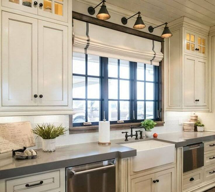 Entrancing White Rustic Kitchen Of And Modern S With E Flair