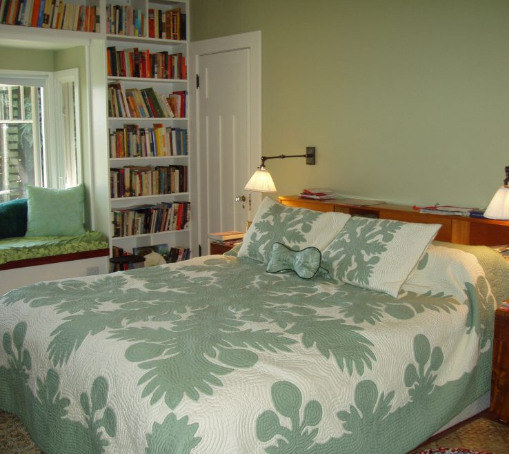 Exquisite Bay Window Bedroom Of Master And Seat