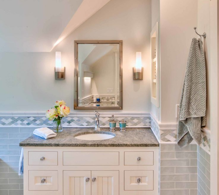 Exquisite His And Hers Bathroom Sinks Of Stunning Guest Bath