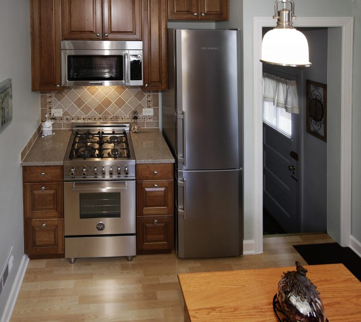 Exquisite Kitchen Remodel Ideas Before And After Of Kitchen, Elmwood Park Small Remodeling
