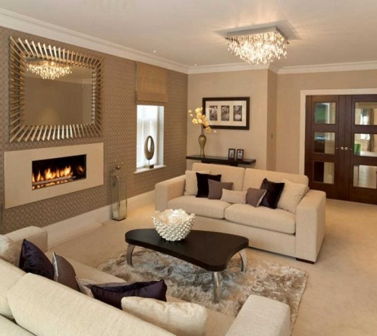 Exquisite Living Room Color Ideas 2017 Of Paint For With Brown Furniture Pictures
